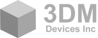 3DM Devices Retina Logo